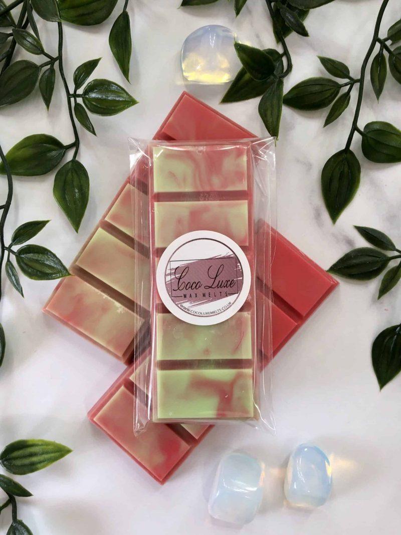 Caramel Apple Swirl Wax Melt Back