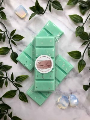 Lime Waterlily Wax Melt Scent Back