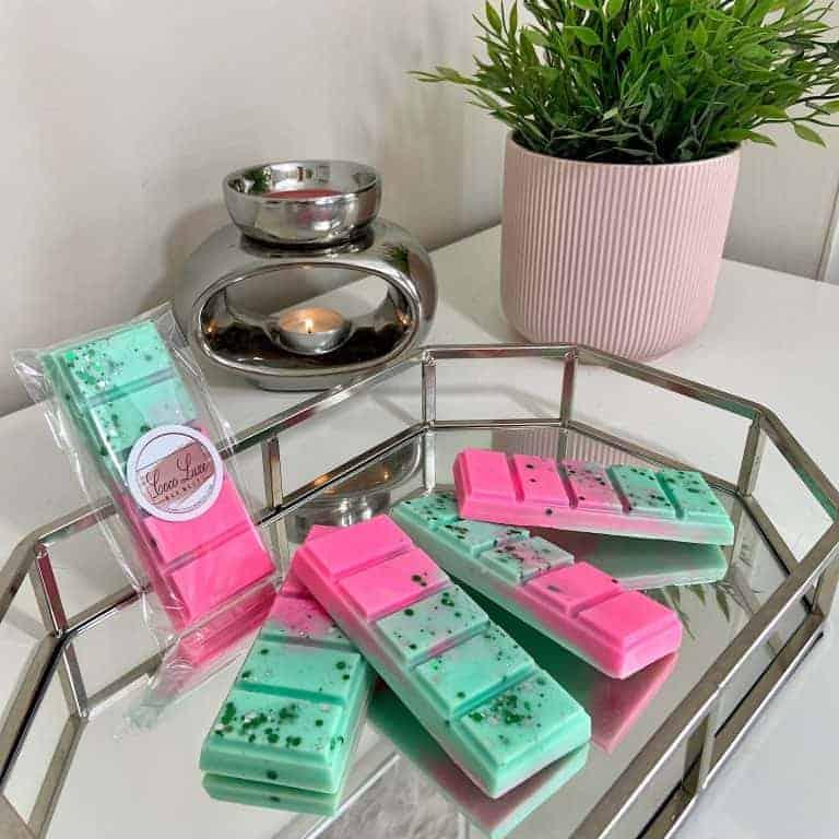 UK scented Melts Background