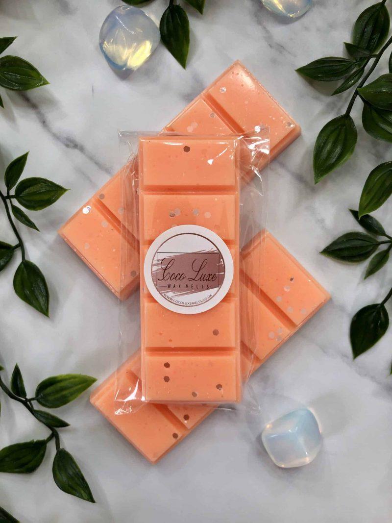 Flozora Paradise Peach Wax Melt Back UK