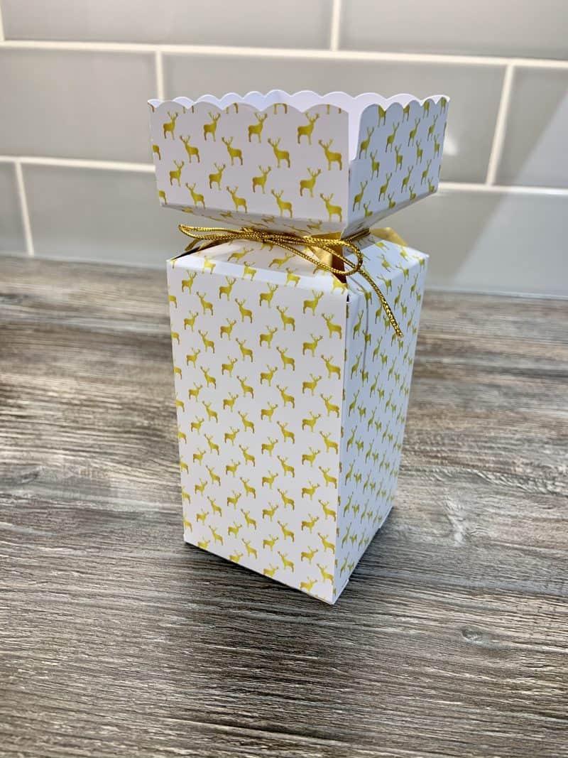 Gold Reindeer Cracker Design UK