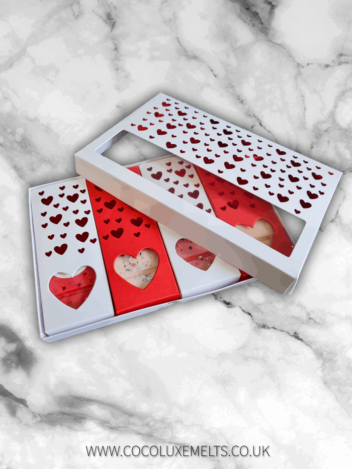 Valentines Wax Melts Collection Gift Set UK