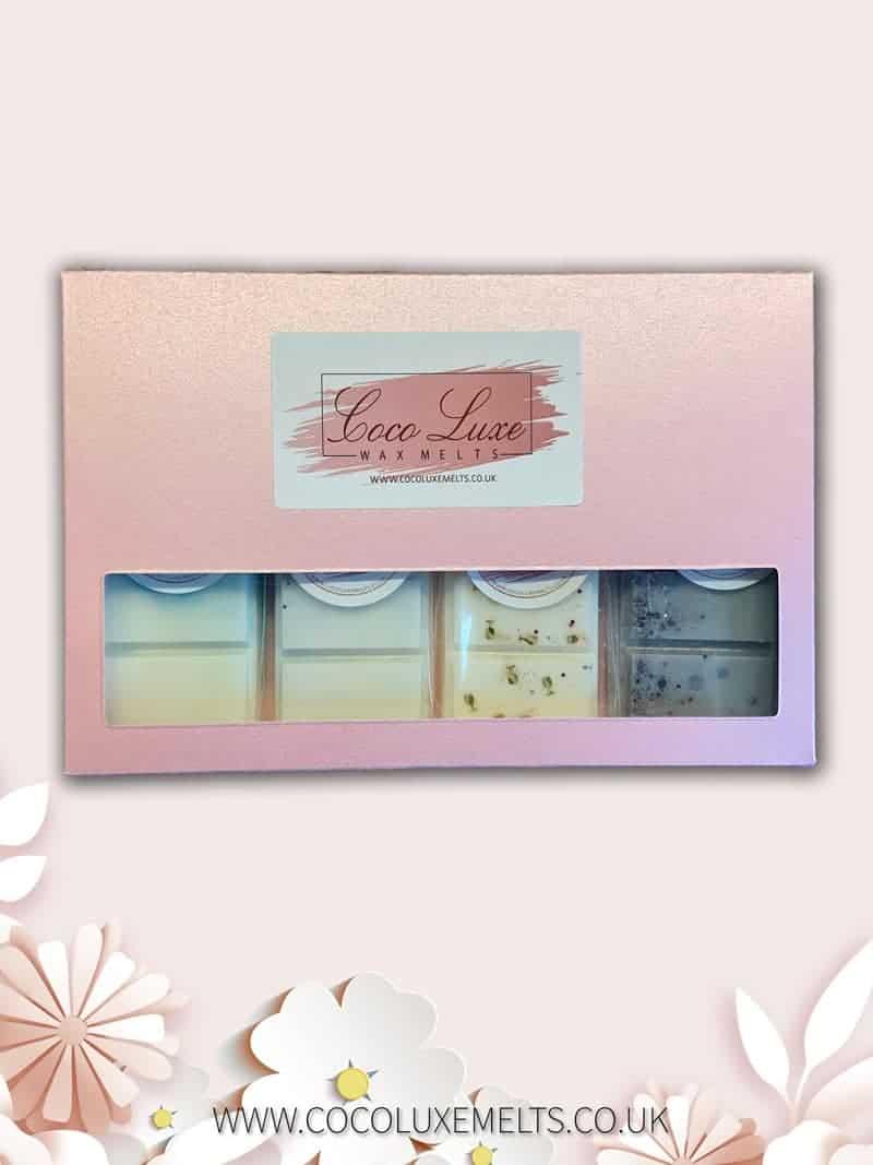 Mothers Day Wax Melt Gift Set Pink UK