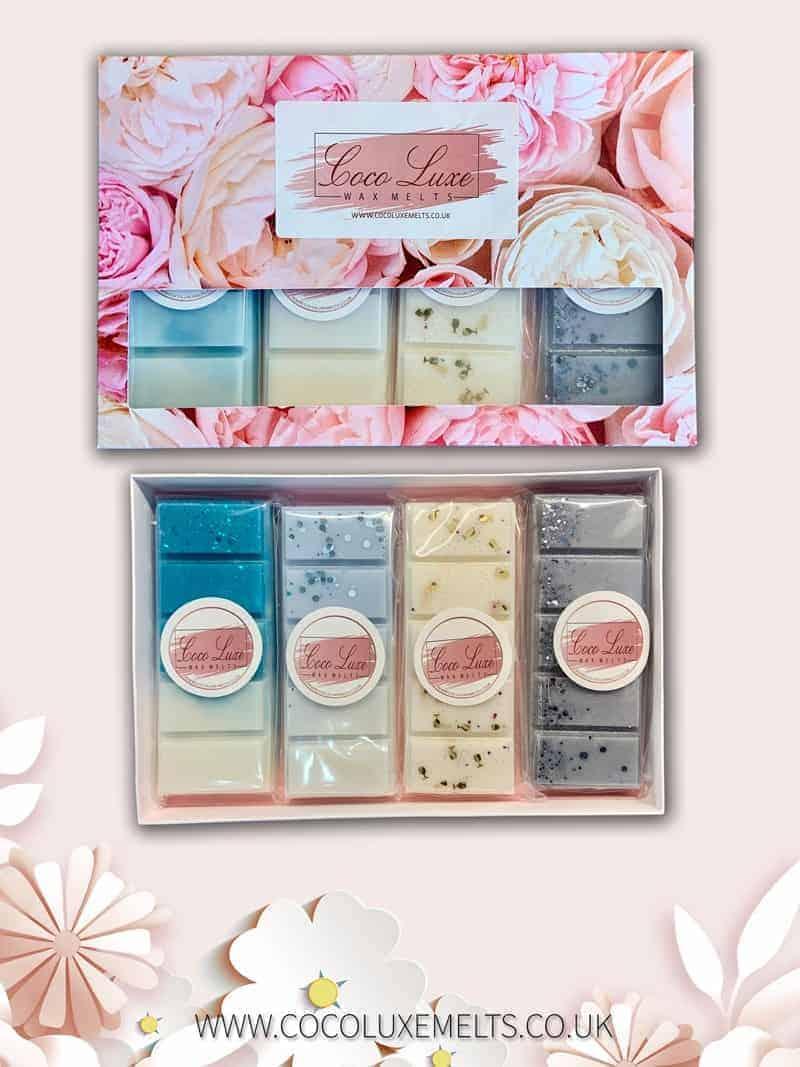 Mothers Day Wax Melt Floral Gift Set UK